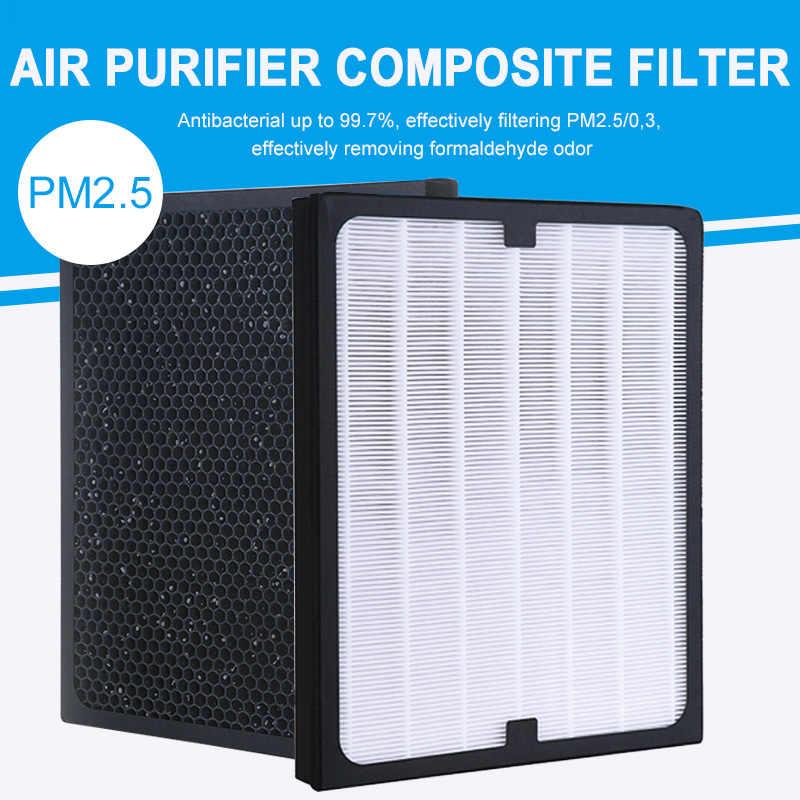 Современный HEPA элемент фильтра фильтрующий элемент очиститель воздуха части пыли вторая рука дыма офис PM2.5 замена фильтра в помещении