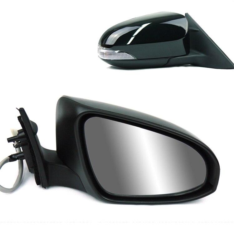 Miroir latéral L/RH de clignotant de LED chauffé par puissance se pliante automatique pour Toyota Camry 2012-2013