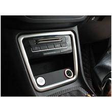 lsrtw2017 car styling car central control panel trim for volkswagen sharan 2011 2012 2013 2014 2015 2016 2017 2018 seat Alhambra