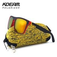 Highly Recommended KDEAM Mirror Sunglasses Men Surfing Sport Sun Glasses Women 100 UV Gafas De Sol