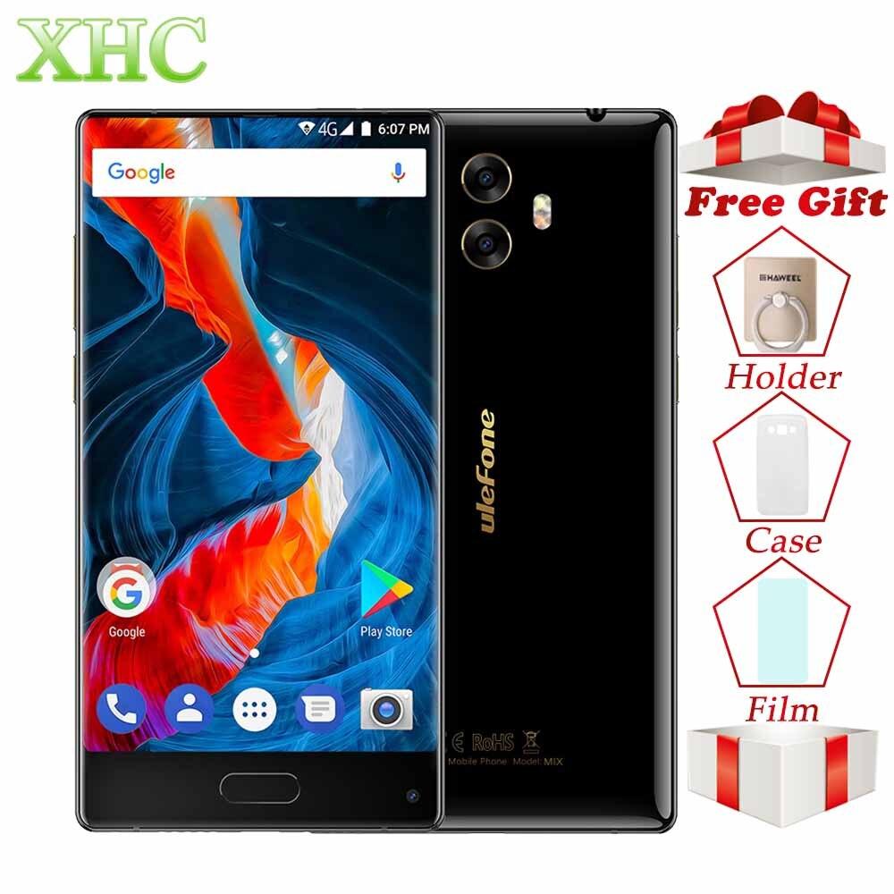 4G LTE Ulefone MIX 5.5 inch Android 7.0 Smartphones RAM 4GB ROM 64GB Octa Core OTG GPS 13.0MP+13.0MP Cameras Dual SIM Cellphones