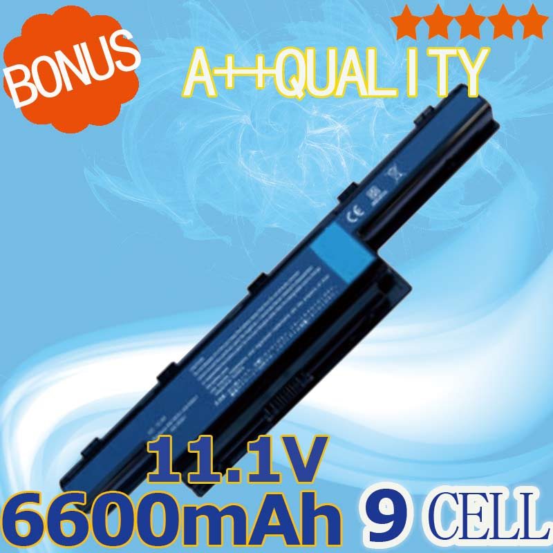 6600mAh 9 Cells Battery AS10G31 For Acer Aspire New75 5750 5551G 5755G 7560G 7551G 7741G AS10D31 AS10D41 AS10D73 AS10D7E AS10D5E aspire 7741g