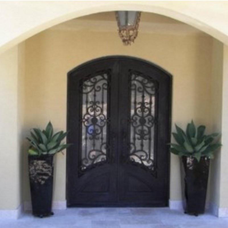 Metal Building Garage Doors Industrial Metal Double Exterior Doors Used Metal Security Screen Doors