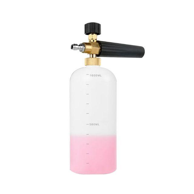 """Carro foamer lavagem jet garrafa 1/4 """"espuma de neve lança canhão lavadora arma sabão pressão"""