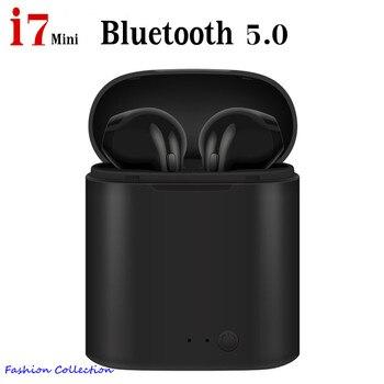 Audifonos I7 Tws mini Bluetooth Earbuds Wireless Headphones stereo Headset In-ear Earphones kulaklık fone sem fio redmi airdots