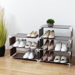 Vanzlife многофункциональная многоэтажная полка для обуви, органайзер для хранения бытовой ткани, простая походная полка для общежития