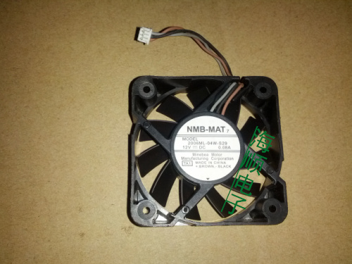 Delta Electronics 2006ML-04W-S29 TA1 Server Square Fan DC 12V 0.08A 50x50x15mm 3-wire