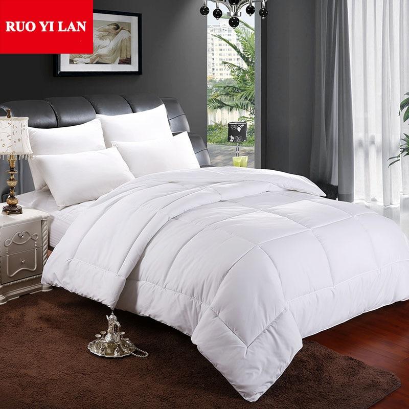 sanding comforter inner home duvet hotel white color quilt for adults children twin full queen. Black Bedroom Furniture Sets. Home Design Ideas