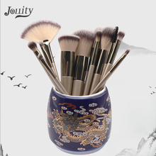 12pcs Women Beauty Makeup Brush Set Synthetic Hair Brushes Foundation Blush Blending kit Tools