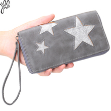 Yehwang 2016 Elegant Money Star Wrist Band Wallet for Women Factory Sale Cash in Delivery Women Money Clip Pueses Cheap 500517