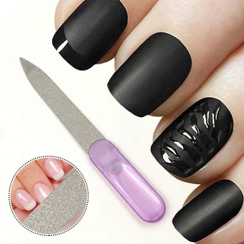 Kit de manicura de uñas, limas de uñas, cepillo, pulidor de arena, accesorios de arte, lijado, Gel UV, herramientas de pulido 1 pc