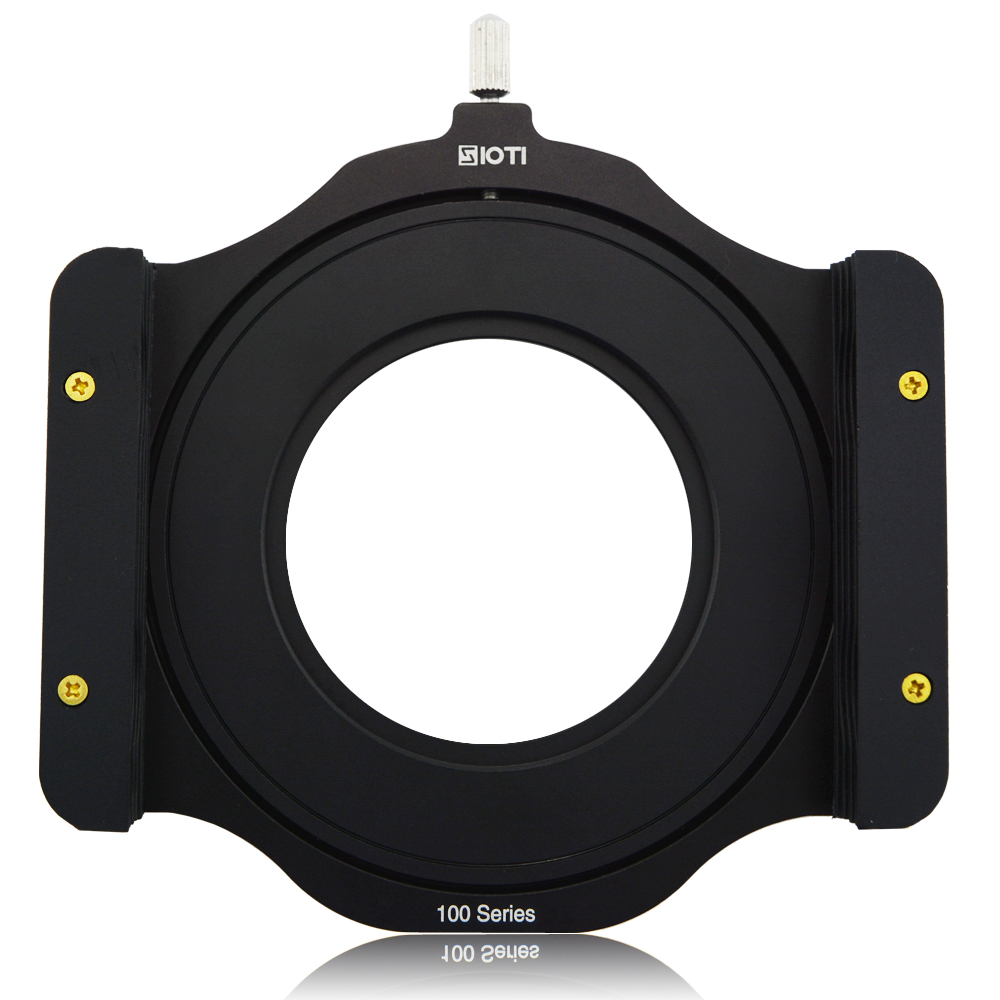 "SIOTI 100mm Square Z-serie Metal Filter Holder + Adapter Ring til Lee Hitech Singh-Ray Cokin Z PRO 4X4 ""4x5"" 4X5.65 ""Filter"