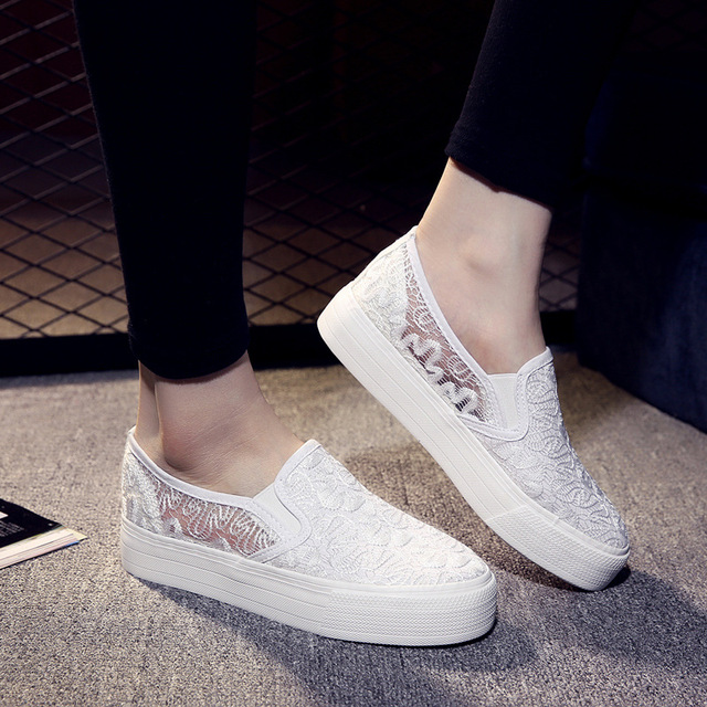 2017 Women Flats Female Shoes Loafers Cute Casual Ballet Dance Solid black Elastic Retro Fashion espadrilles white calzado mujer
