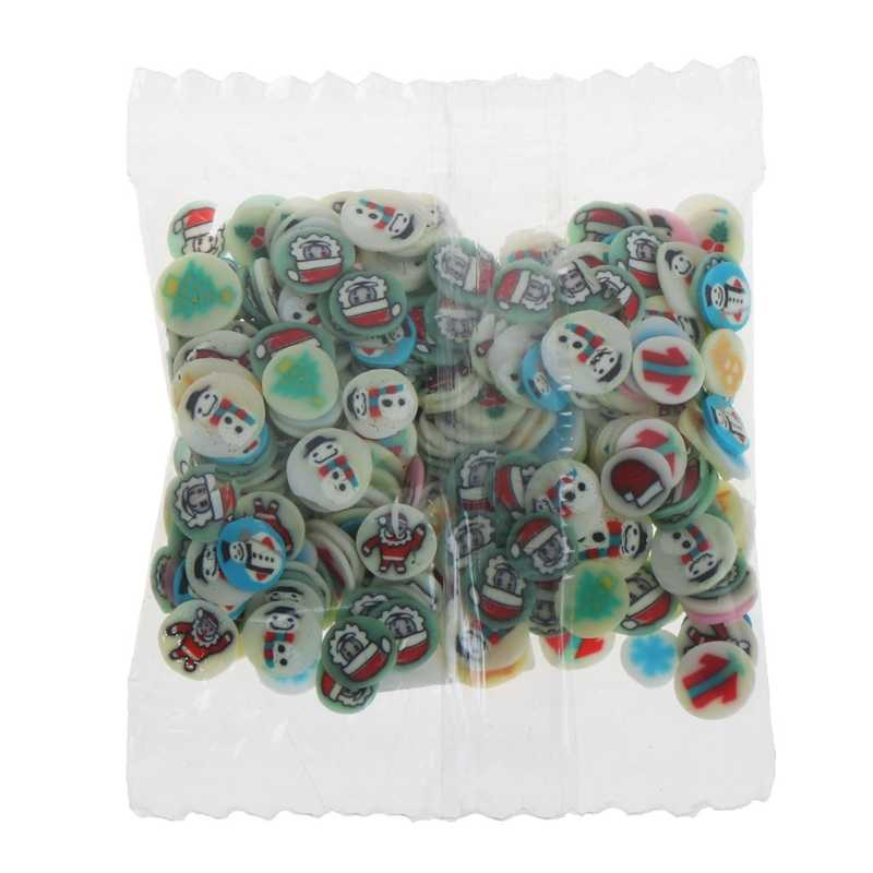 10 Styles Polymer Clay Toy DIY Slime Accessories Decor Jelly Mud Hand Gum Oct20-A