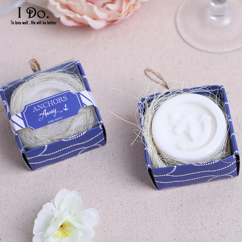Free Shipping Anchor Soap Wedding Favors And Gifts For Guests Souvenirs Decoration Event & Party Supplies