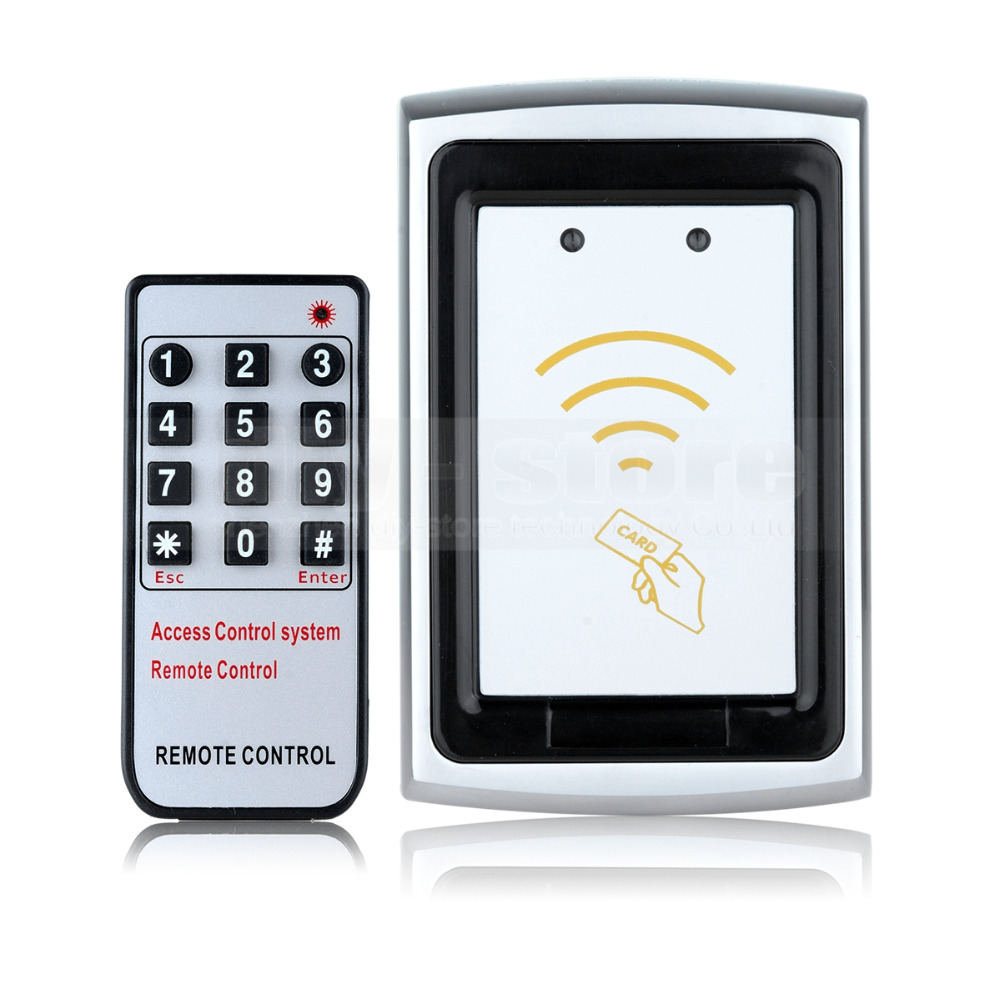 ФОТО DIYSECUR Remote Control Metal Case 125KHz RFID Reader Password Accesss Controller K75EM
