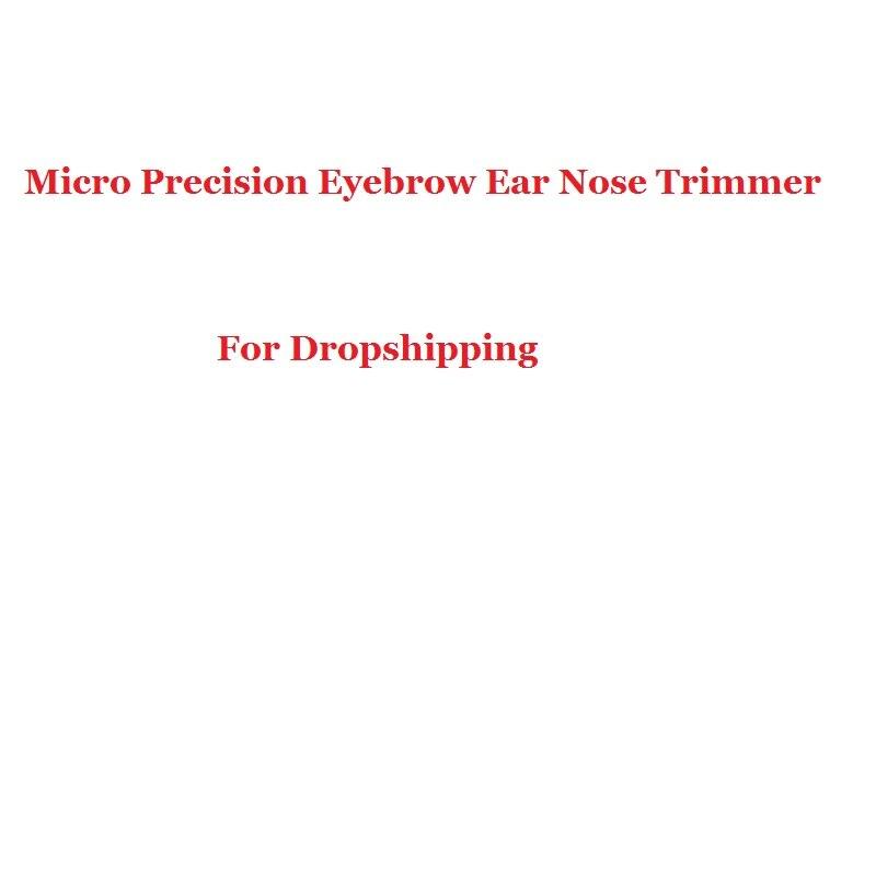 2018 Micro Precision Eyebrow Ear Nose Trimmer Removal Clipper Shaver Personal El