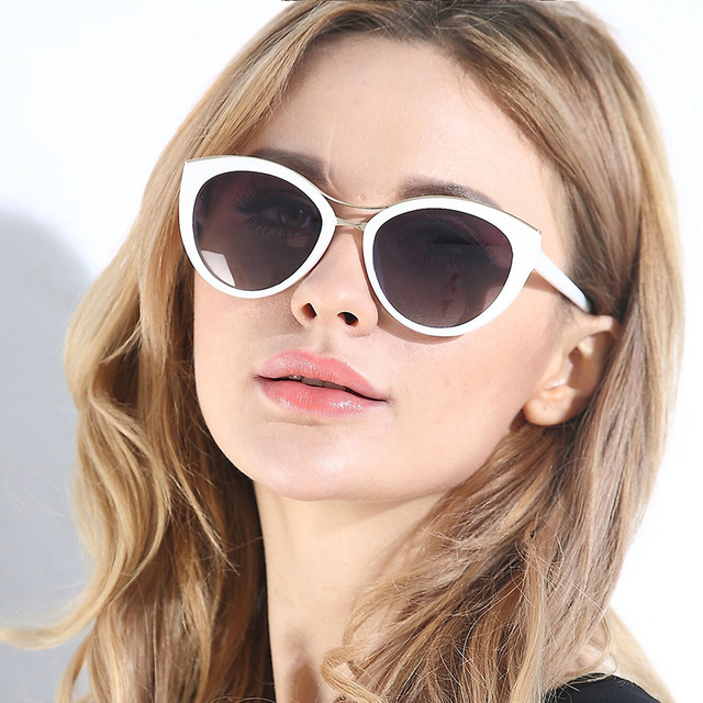 03d9e5eda6 Vazrobe (145mm) oversized Women Polarized Sunglasses Cat eye White Black  polaroid sun glasses women s driving UV400 fashion 2018