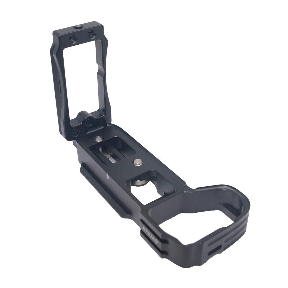 лучшая цена Mcoplus A9 A7III metal hand grip for Sony a9 a7mIII a7RIII a7RII a7II a7sII