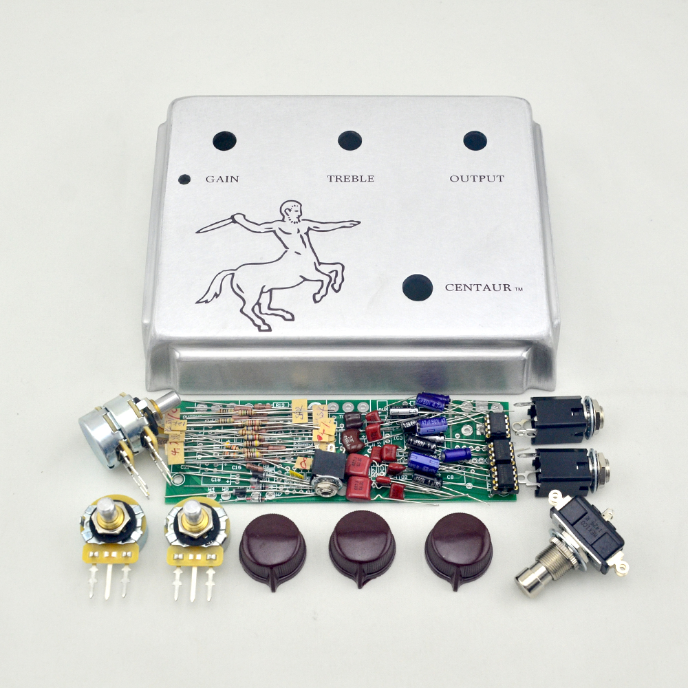 Klon Centaur Silver Professional Overdrive Guitar Effect Pedal All Fuzz Box By Fet Kits Stomp In Parts Accessories From Sports Entertainment On