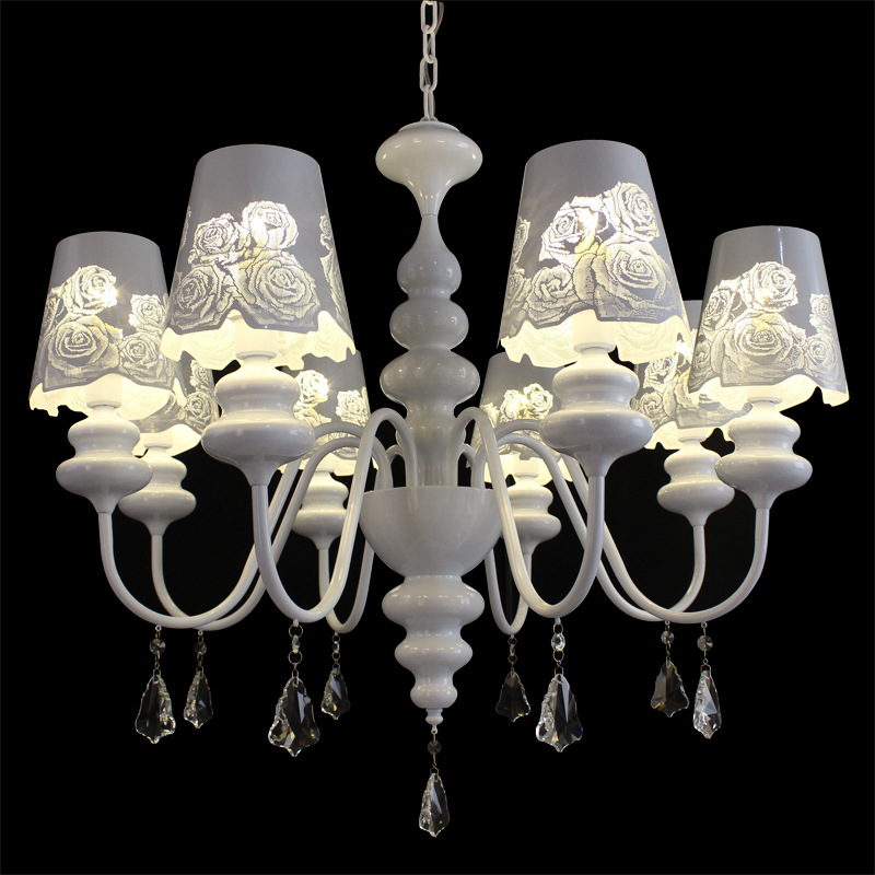 Post-modern living room chandelier wholesale European iron lamp White Swan candle lamp fashion creative art lamp projectPost-modern living room chandelier wholesale European iron lamp White Swan candle lamp fashion creative art lamp project