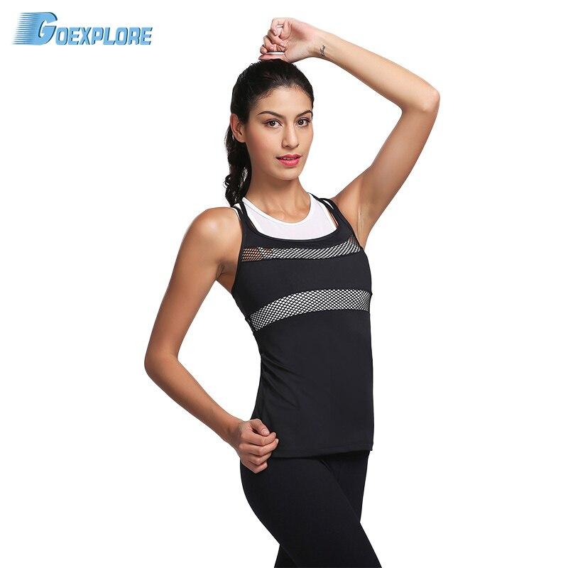 Womens Sports Bras Running Yoga Pants Dance Gym Tank Tops: Goexplore Women Sports Bras Yoga Shirts Running Backless