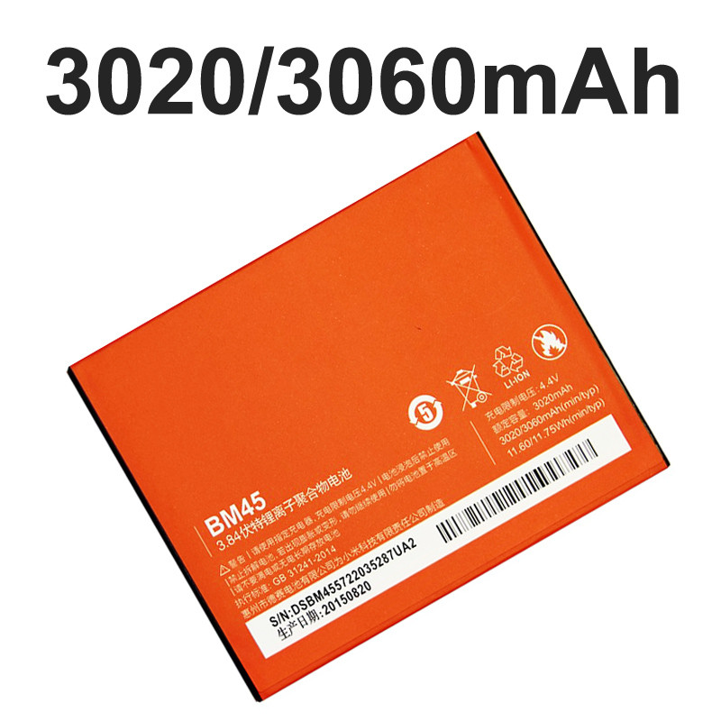 Free Shipping for New BM40 Battery For Xiaomi M2A Mobile phone Xiaomi 2A Mi2A Cell Phone 2030mAh high quality