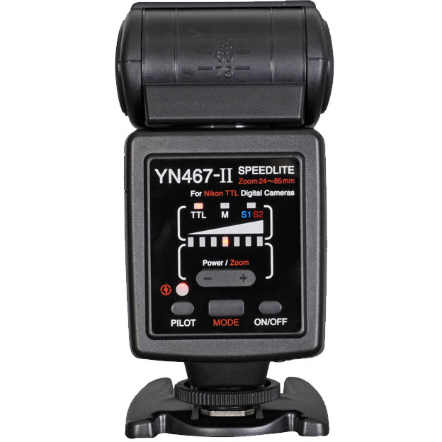YONGNUO YN-467 II for Nikon, I-TTL YN467 II Flash Speedlite for Nikon D7000 D5000 D3100 D200 D40x D70s D800 D300S D90 D80 D60 wired remote shutter release for nikon d80 d70s 98cm length