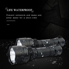 T6 Super Powerful Led Flashlight Linterna Rechargeable Work Lamp Waterproof 4 Modes Lampe Torche for Hiking Camping Emergency