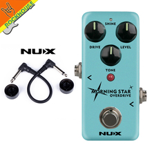 New NUX Morning Star NOD-3 Blues Overdrive Guitar Effects Pedal Tube Screamer Classic Blues Breaker True Bypass Free Shipping