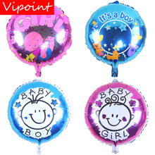 VIPOINT PARTY 45cm Boys Girls Foil Balloons 10 Pieces  Wedding Event Christmas Halloween Festival Birthday Party HY-186