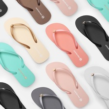 купить Slippers Women Flip Flop Women Summer Fashion Shoes Women Flat Slippers Outside Indoor Non-Slip Soft Slides Ladies по цене 715.79 рублей