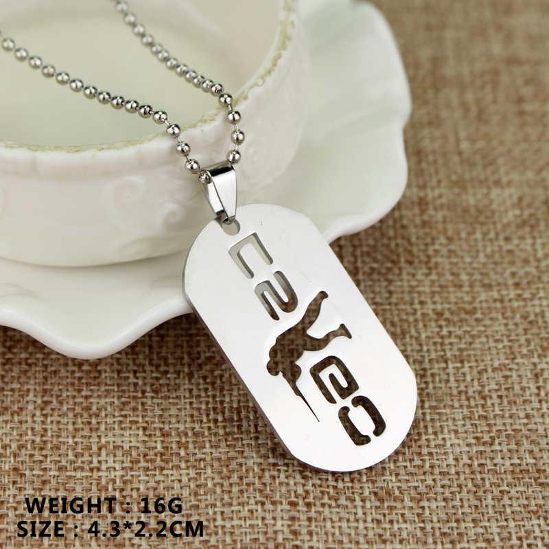 Juego CS GO Link Collar para hombres CounterStrike CSGO, colgante de arma, collares para hombre y mujer, accesorios de joyería, amuleto para hombre