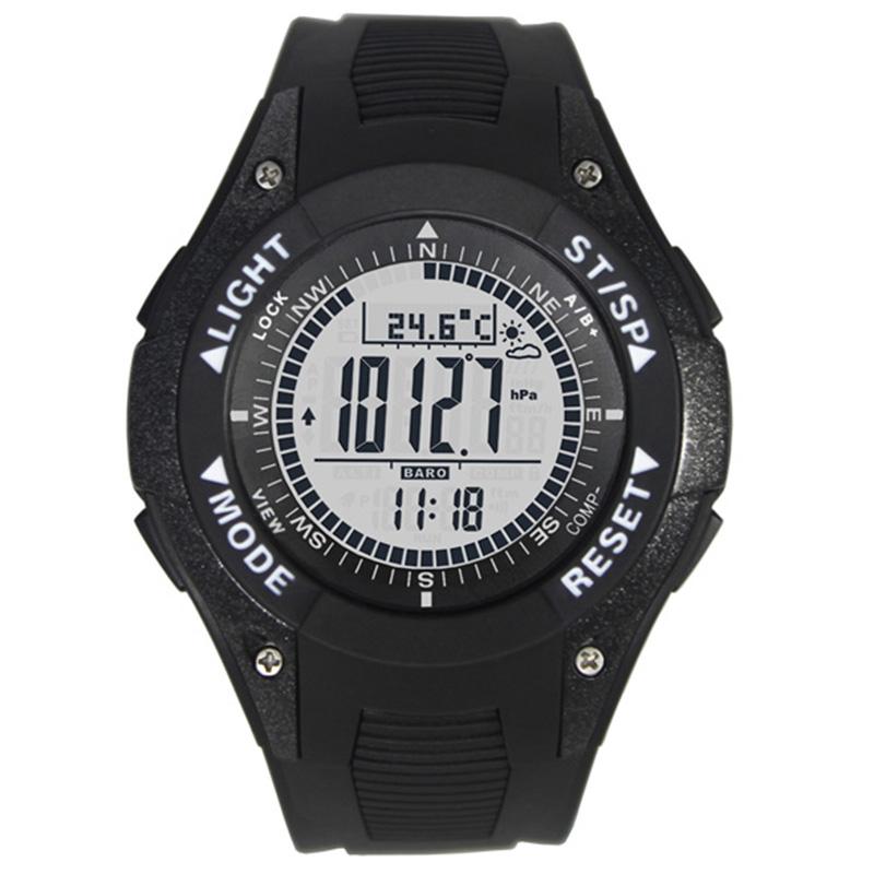 Prix pour Sport multifonctions boussole montre avec Altimètre Baromètre Boussole montre altimètre thermomètre Affichage de la Météo