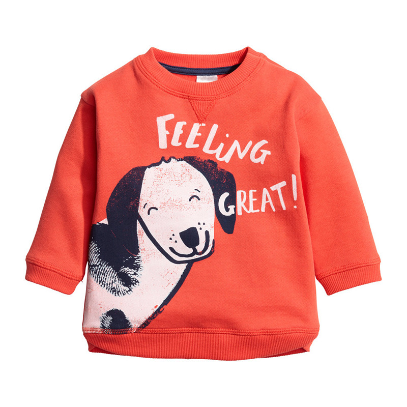 Little Maven New Autumn Spring Children Clothing Long- sleeved O-neck Quality Doddy Thick Cotton Brand Girls Boys Terry Tshirt