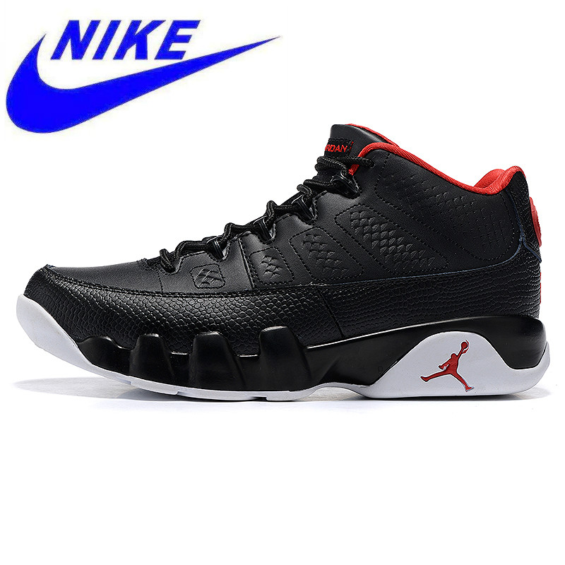 pretty nice 6a25b 36ca6 Nike Air Jordan 9 Low Bred AJ Women s Sports Basketball Shoes, Non-slip Wear  Resistant Balance Shock Resistant,Black 833447 001