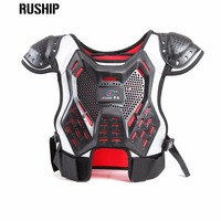 Children's professional sport vests kids motocross ski Hard back support motorcycle Protection Back support Baby Spine Chest