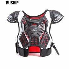 Children's professional sport vests kids motocross ski Hard back support motorcycle Protection Back support Baby Spine Chest