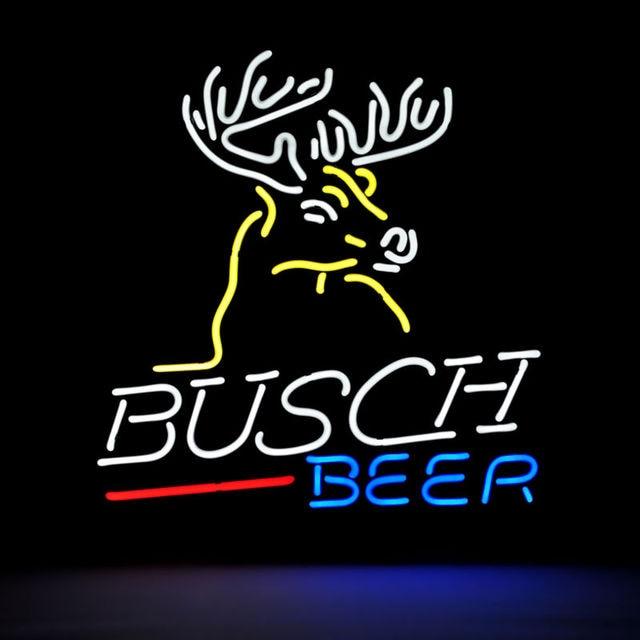 Revolutionary neon gift budweiser busch deer neon beer signs beer revolutionary neon gift budweiser busch deer neon beer signs beer signs neon signs pub bars 19 aloadofball Image collections