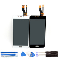 100 New For Meizu M3 Note LCD Display Digitizer Touch Screen Assembly Replace 5 5inch Meilan
