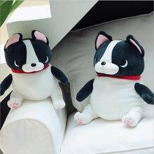 New Style Lovely Sitting French Bulldog Plush Toy Stuffed Animal Dog Doll Children Birthday Gift