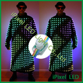 50 pcs/string 12mm de pixel led luzes cordas de fadas, SM16716IC conduziu a luz do pixel