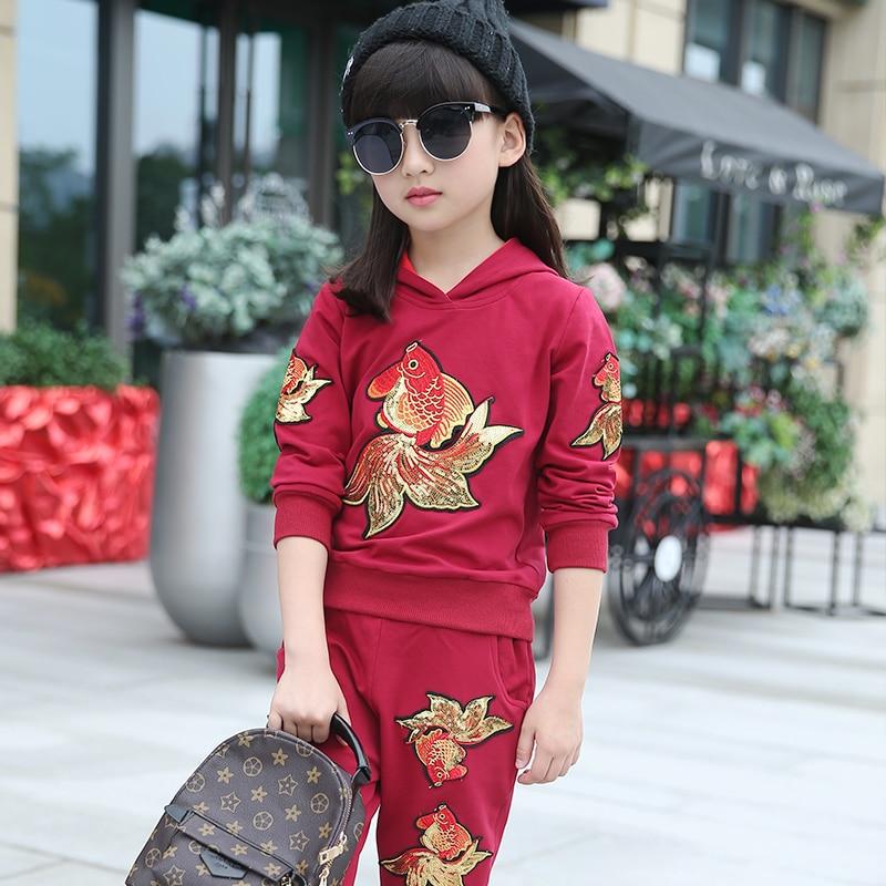 2016 boys girls autumn winter clothes sets font b kids b font sport clothing outfit children
