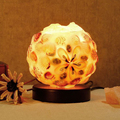 Warm And Romantic Creative Crystal Salt Lamp Study Living Room Bedroom Decorative Table Lamp