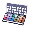 New Arrival Professional Makeup Brand 24 Warm Color Shimmer Eye Shadow Palette Neutral Eyeshadow Cosmetic Palette