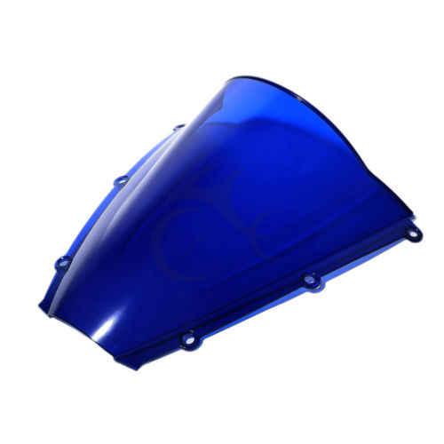 Motorcycle Dual Bubble Windshield Windscreen For Honda CBR600RR CBR 600 RR 2003 2004