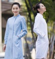 Medical Uniforms New Trend Spring/Summer Long Sleeved Nurse Uniform Beauty Salon Uniform medical scrubs women Dzy005