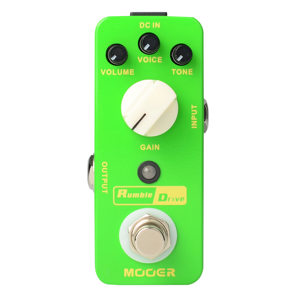 Mooer Rumble Drive Overdrive Electric Guitar Effect Pedal Excellent Dynamic Response Round Sound True Bypass MOD2 rumble roses xx купить спб