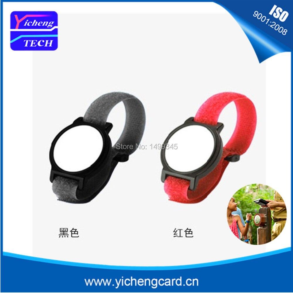 New arrival 10pcs 125Khz RFID Wristband Bracelet EM4100 Waterproof Proximity Smart Card Watch Type for Access Control