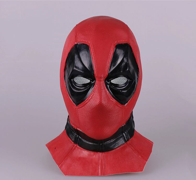 Movie Deluxe Deadpool Superhero Spiderman Mask Movie Cosplay Accessories Halloween Spider-Man Mask Homecoming Cosplay